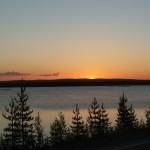 Sole di mezzanotte a Rovaniemi