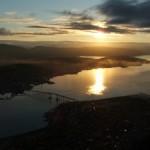 Sole di mezzanotte a Tromsø