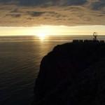 Sole di mezzanotte a Capo Nord