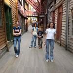Il quartiere tedesco di Bergen, protetto dall'UNESCO